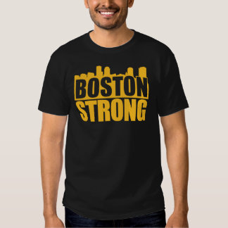 Boston Strong Gold T Shirt