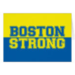 Boston Strong Graphic Style Card