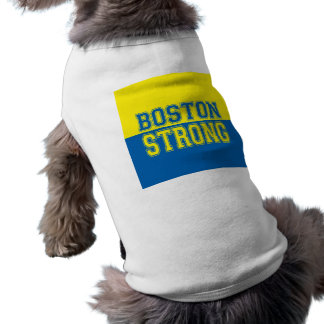 Boston Strong Graphic Style Dog Shirt