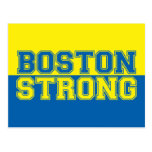 Boston Strong Graphic Style Postcard