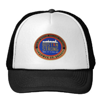 ------------------------------------BOSTON STRONG- TRUCKER HAT