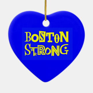 Boston Strong Heart Ornament