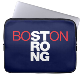 Boston Strong Helvetica 13 inch Laptop Sleeve