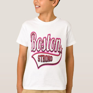 Boston Strong in Pink T-Shirt