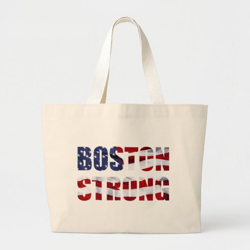 BOSTON STRONG JUMBO TOTE BAG Zazzle