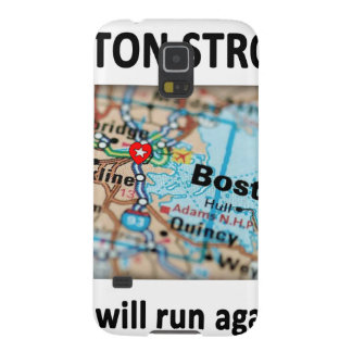 Boston Strong Map Galaxy S5 Case