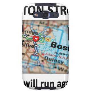 Boston Strong Map Galaxy SIII Cases