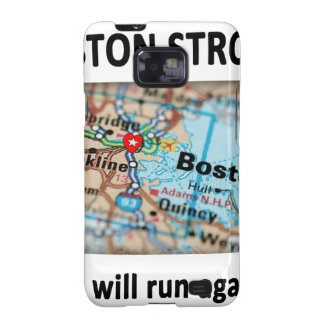 Boston Strong Map Samsung Galaxy SII Covers