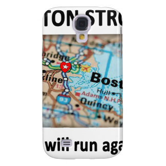 Boston Strong Map Samsung Galaxy S4 Cases