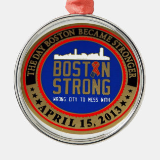 ------------------------------------BOSTON STRONG- METAL ORNAMENT