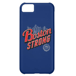 Boston Strong on a Blue Decor Cover For iPhone 5C