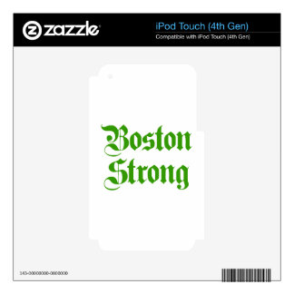 boston-strong-pl-ger-green.png decal for iPod touch 4G