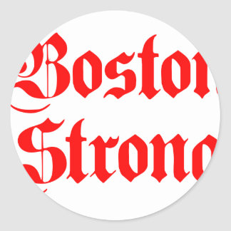 boston-strong-pl-ger-red.png classic round sticker