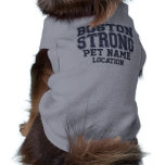 Boston Strong Pooch Customize Pet Name! Doggie T-shirt