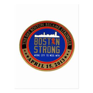 ------------------------------------BOSTON STRONG- POSTCARD