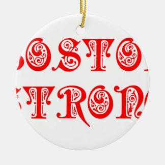 boston-strong-pre-red.png adorno navideño redondo de cerámica