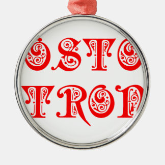 boston-strong-pre-red.png metal ornament