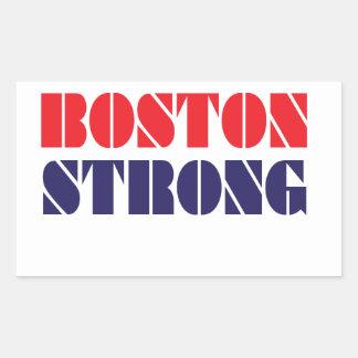 boston strong rectangular sticker