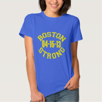 Boston Strong Remembers Tee Shirts