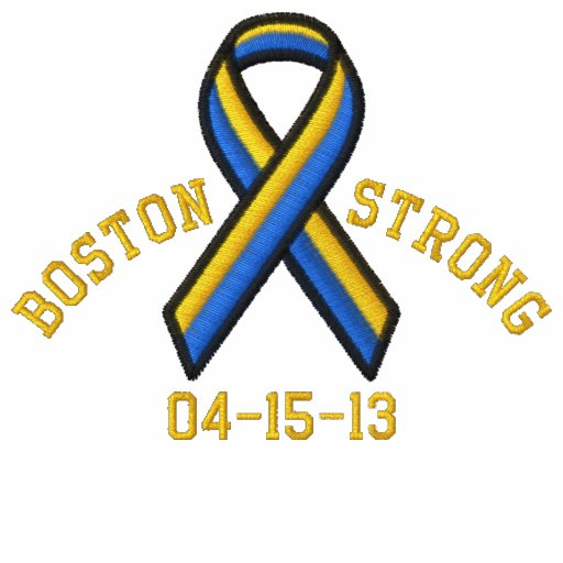 Boston Strong Ribbon 04-15-13 Embroidery