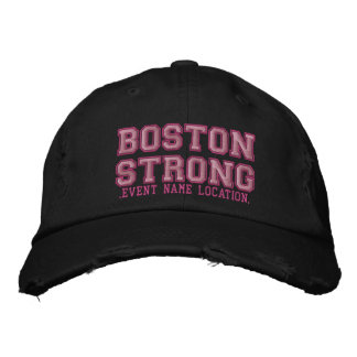 Boston Strong Ribbon Edition Cap Personalize it!