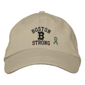 Boston Strong Ribbon Edition Embroidered Baseball Hat