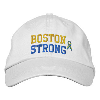 Boston Strong Ribbon Edition Embroidered Hat