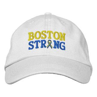 Boston Strong Ribbon Embroidery Cap