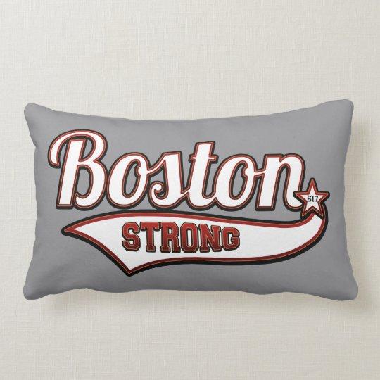 Boston Strong Rider Style Lumbar Pillow