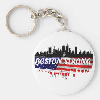 Boston Strong Run Keychain