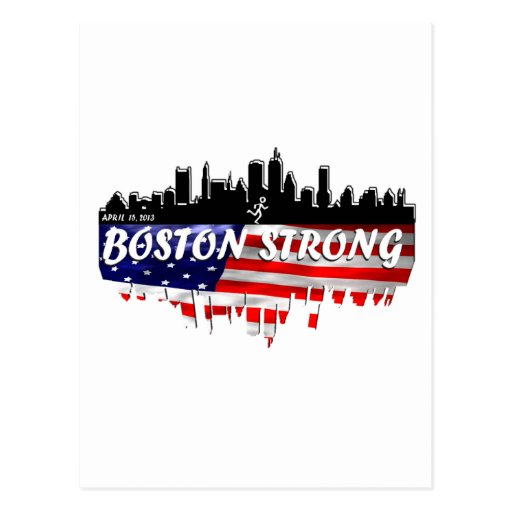 Boston Strong Run Post Cards