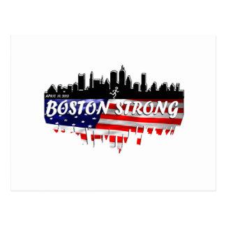 Boston Strong Run Postcard