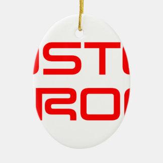 boston-strong-saved-red.png adorno navideño ovalado de cerámica