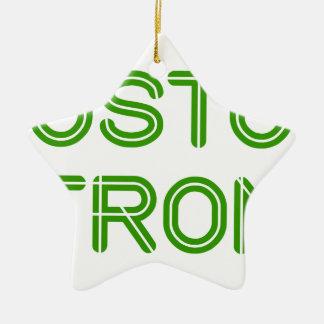 boston-strong-so-green.png adorno navideño de cerámica en forma de estrella