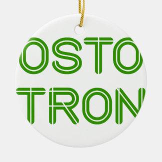 boston-strong-so-green.png adorno navideño redondo de cerámica