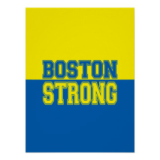 Boston Strong Spirit Decor