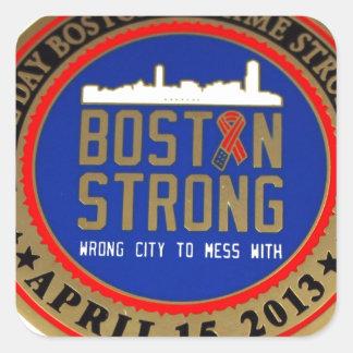 ------------------------------------BOSTON STRONG- SQUARE STICKER