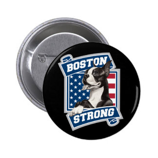 BOSTON STRONG TERRIER PINS