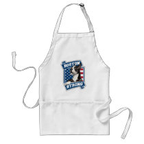 BOSTON STRONG TERRIER crest style Adult Apron