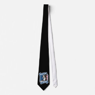 BOSTON STRONG TERRIER crest style Neck Tie