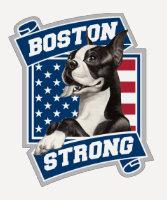BOSTON STRONG TERRIER TEE SHIRT