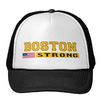 BOSTON STRONG U.S. Flag Hat