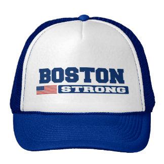 BOSTON STRONG U.S. Flag Hat (blue)