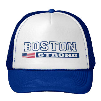 BOSTON STRONG U.S. Flag Hat (blue)