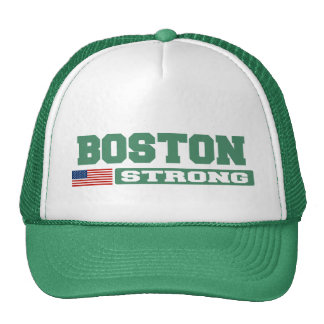 BOSTON STRONG U.S. Flag Hat (green)