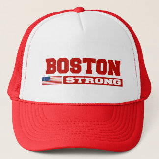 BOSTON STRONG U.S. Flag Hat (red)