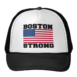 BOSTON STRONG U.S. Flag Hats