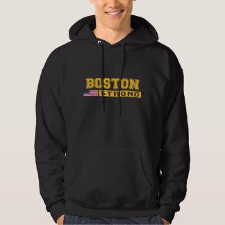 BOSTON STRONG U.S. Flag Hooded Sweatshirt