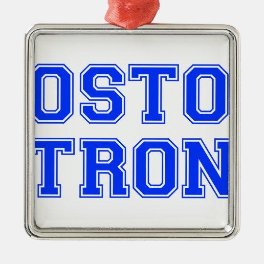 boston-strong-var-blue.png metal ornament