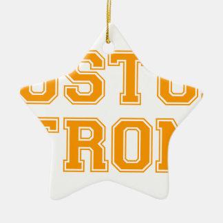 boston-strong-var-orange.png adorno navideño de cerámica en forma de estrella